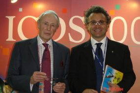 Con il Prof. Bill Heald inventore della Total Mesorectal Excisio