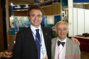 Con il Prof.Elie Leslie Bokey di Sidney