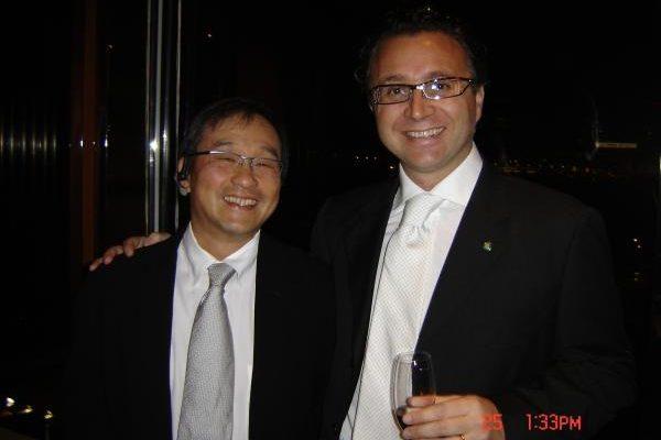Con il Prof.Michael Li di Hong Kong