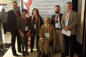 Dr Naldini e la sua equipe al 1st International Congress, Pisa