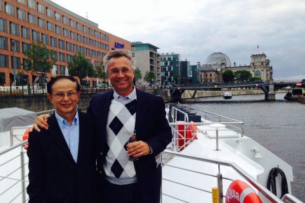 Con il Prof. Arun Rojanasakul