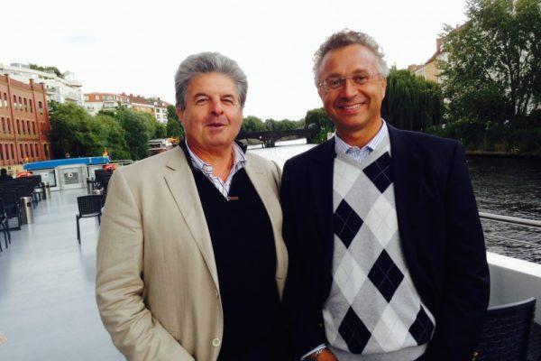 Con il Prof. Bruno Roche Ginevra