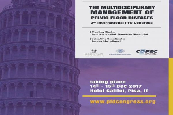 "In attesa del ""2st International Congress on the Multidisciplinary Management of Pelvic Floor Disease"", Dicembre 2017"