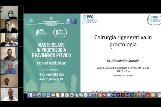 Ottimi riscontri per il Masterclass in Proctologia e Pavimento Pelvico 12-13 Novembre 2020